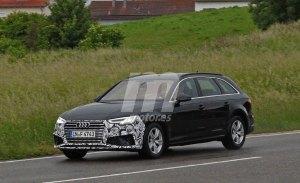 Primeras fotos espía del lavado de cara del Audi A4 Avant previsto para 2019