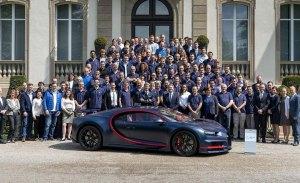 El Bugatti Chiron número 100 tendrá como destino Oriente Medio