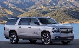 El Chevrolet Suburban incorpora a su gama el paquete RST Performance