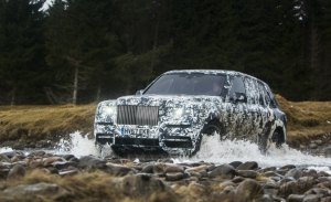 Rolls-Royce adelanta la presentación del nuevo Cullinan al próximo 10 de mayo
