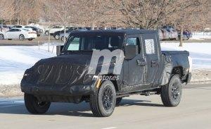 Un nuevo vistazo al Jeep Scrambler, la esperada variante pick-up del Wrangler