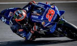Viñales marca la referencia en el test de MotoGP en Barcelona