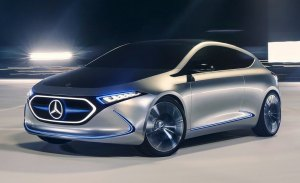 El Mercedes EQA llegará en 2020 y será producido en Francia