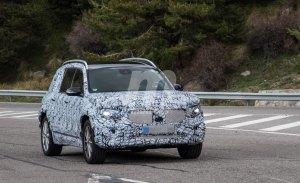 El nuevo Mercedes GLB cazado durante sus pruebas