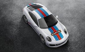 El Porsche 911 ahora con decoración Martini Racing oficial