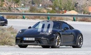 Porsche continúa trabajando en el nuevo 911 Speedster