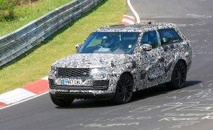 El Range Rover SV Coupé sigue con sus pruebas en Nürburgring