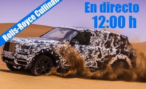 Sigue en directo la presentación del nuevo Rolls-Royce Cullinan