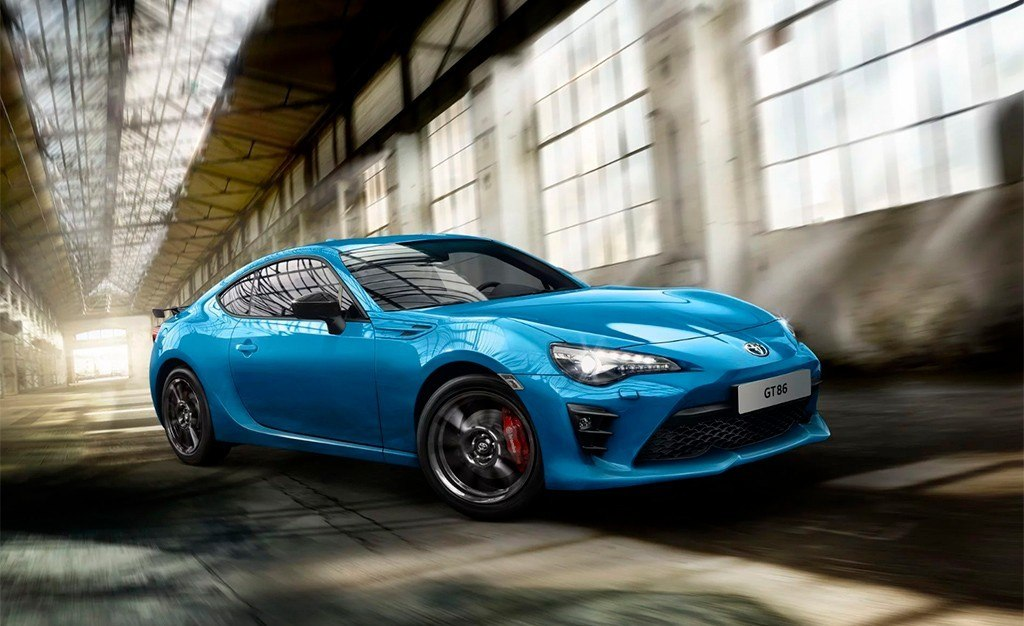 Toyota GT86 Club Series Blue Edition, exclusivo para el ...