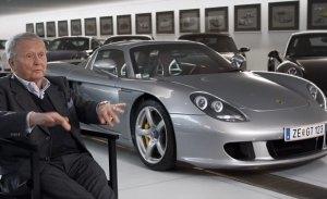 Wolfgang Porsche nos muestra los modelos favoritos de su colección personal