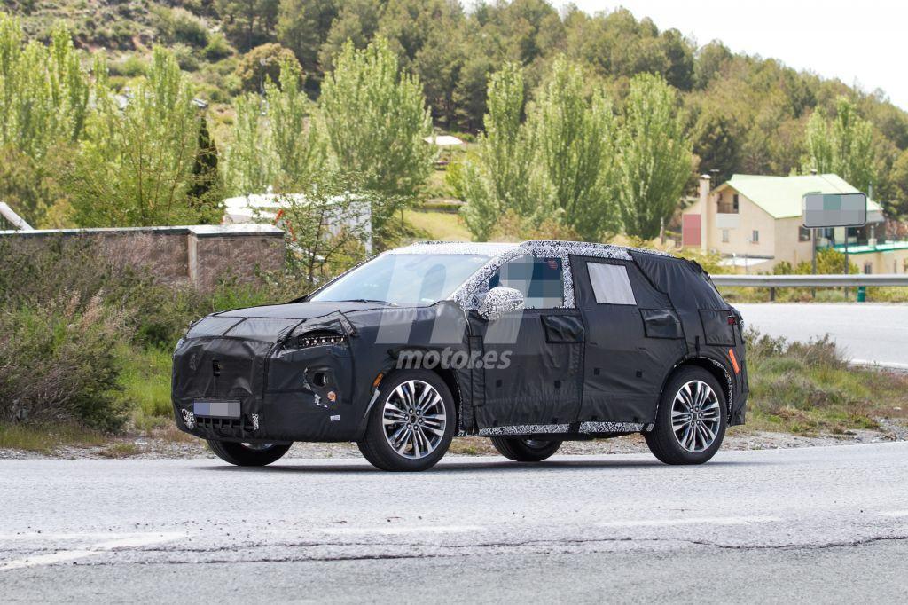 El nuevo Chevrolet Blazer 2019 cazado durante unos tests ...