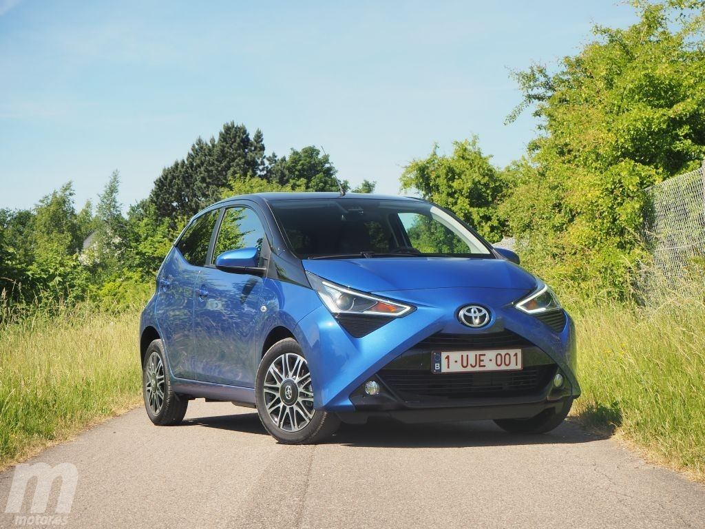 prueba toyota aygo 2018 m s personalidad al estilo manga. Black Bedroom Furniture Sets. Home Design Ideas