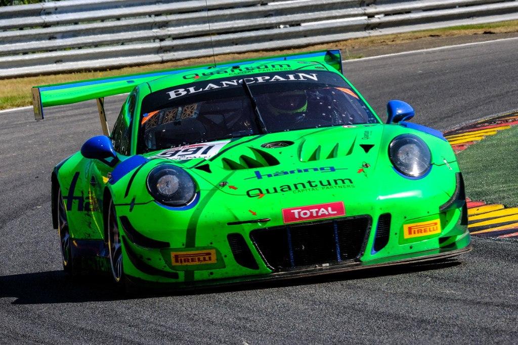 El Porsche de Herbert lidera el test de las 24 Horas de Spa - Motor.es