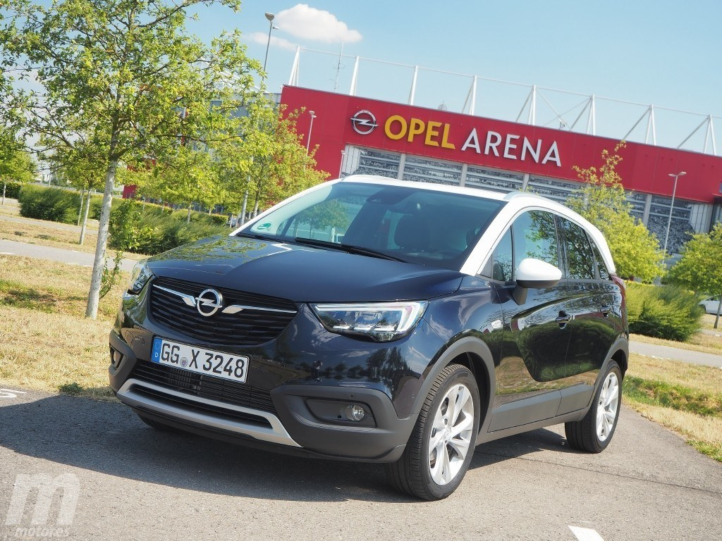 prueba opel crossland x 1 2 turbo 130 cv versatilidad en la ciudad con v deo. Black Bedroom Furniture Sets. Home Design Ideas
