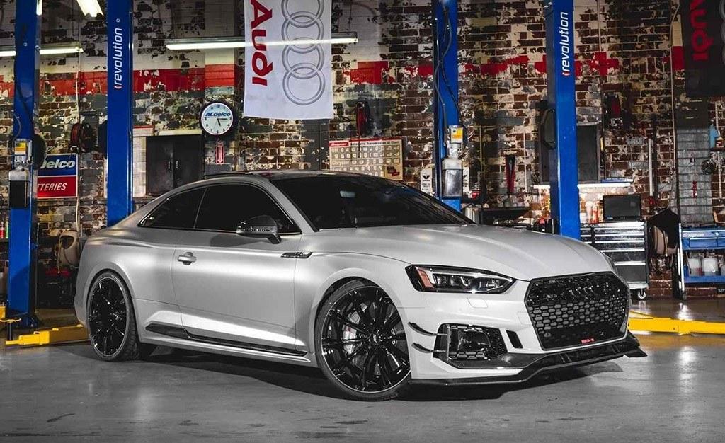 Abt Irrumpe En El Sema Show 2018 Con Su Audi Rs5 R Y Un Sq5 Motor Es