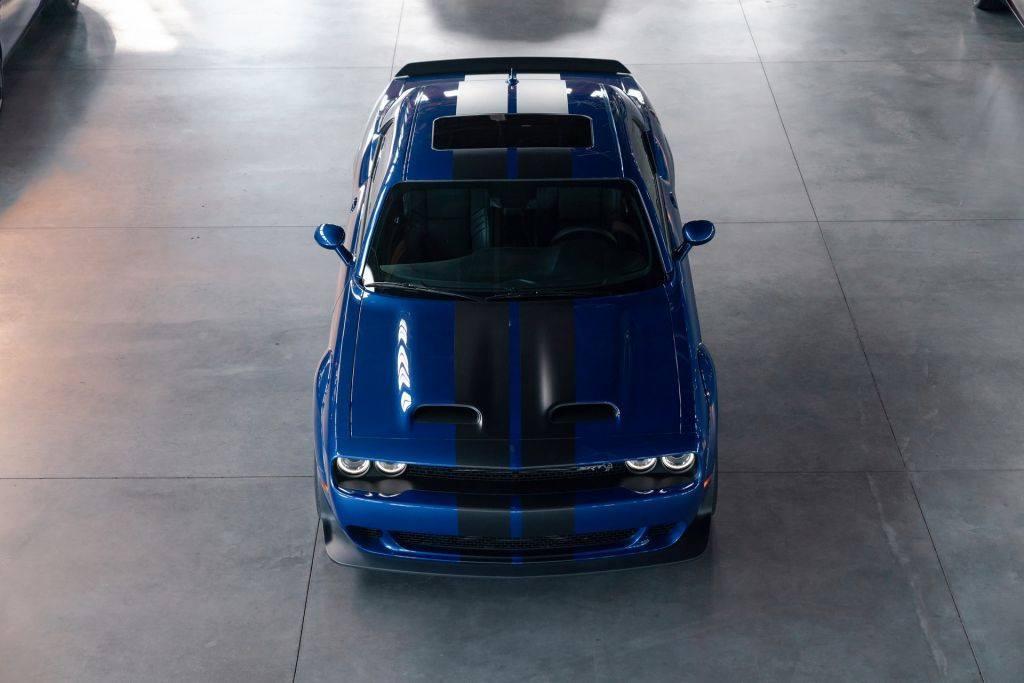 El Nuevo Dodge Challenger Srt Hellcat Redeye Ya Esta En Produccion Motor Es