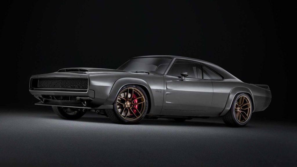 Este Dodge Charger Estrena El Nuevo V8 Hellephant De 7 0 Litros Y 1 014 Cv Motor Es