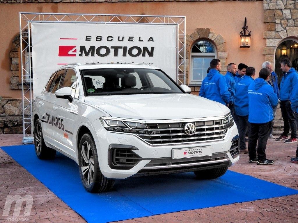 Escuela 4Motion: disfrutando la experiencia offroad con el nuevo Volkswagen Touareg
