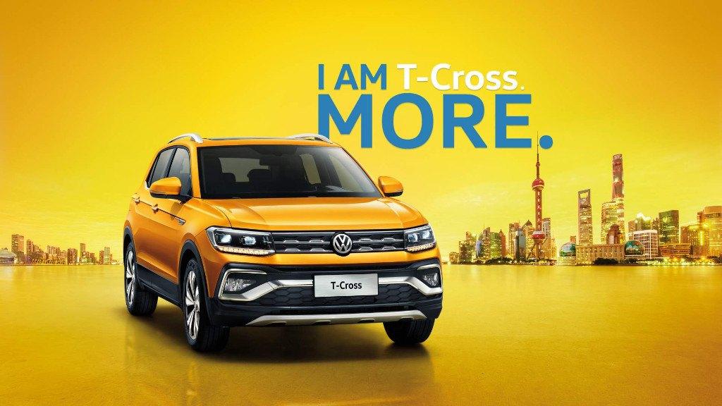 d79426657380 El Volkswagen T-Cross fabricado en China lleva el rostro del Tiguan ...