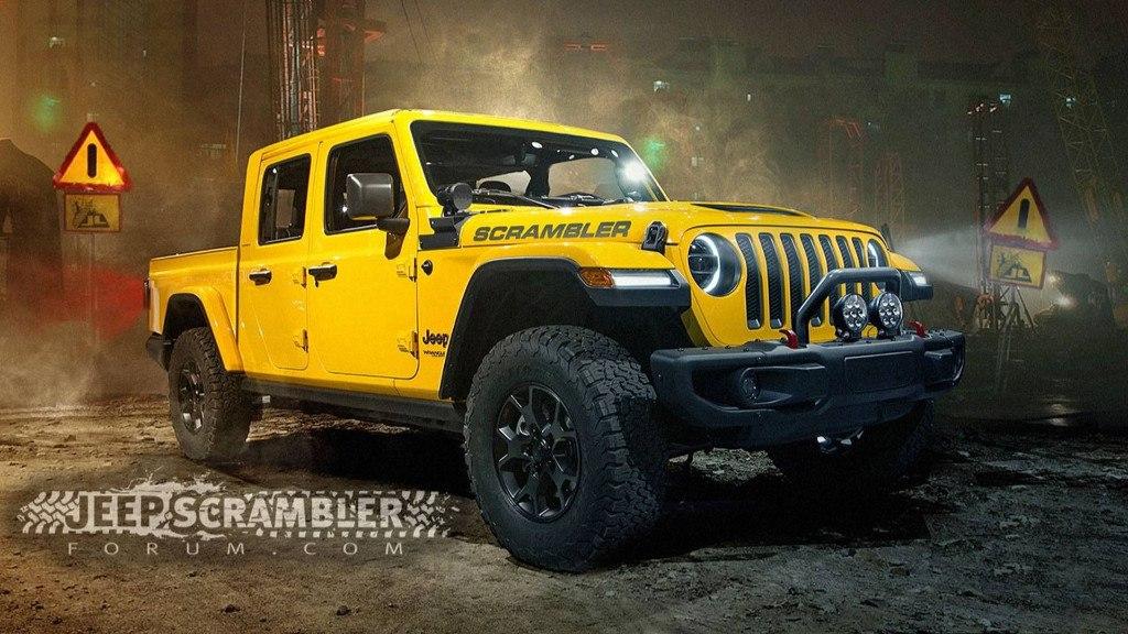 filtracion el jeep wrangler pick  se llamara gladiator   scrambler motores