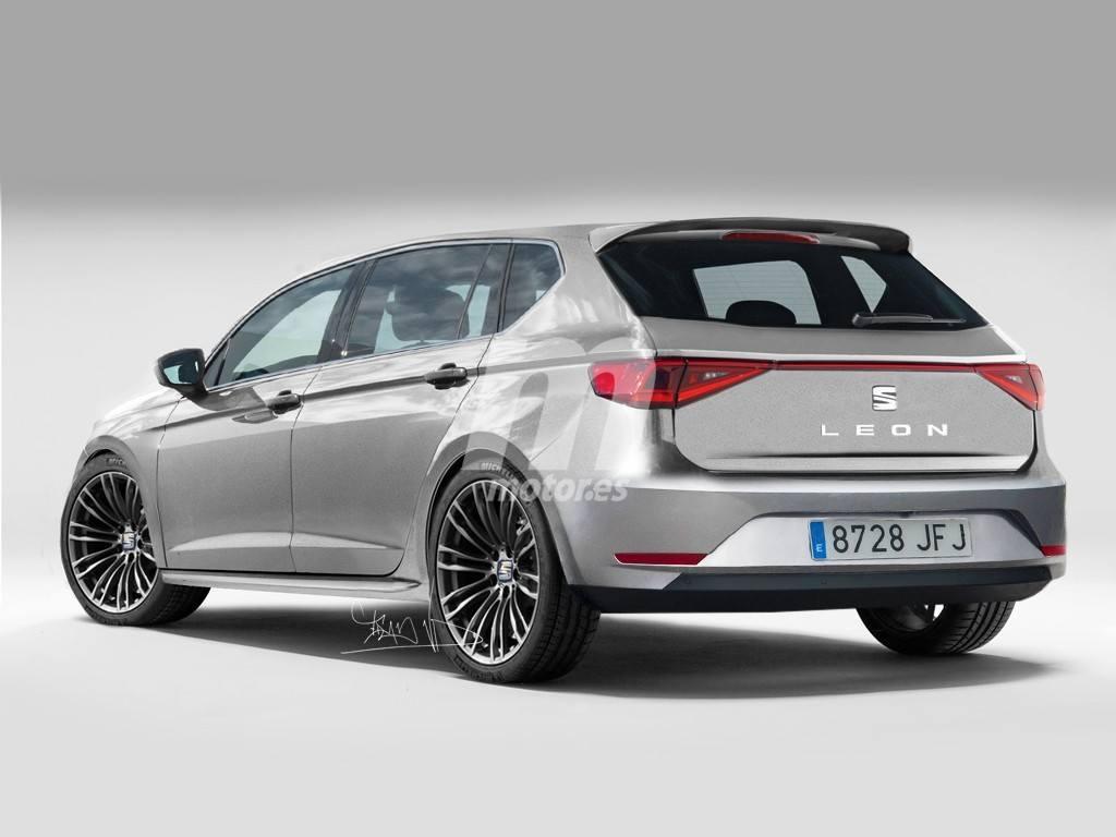 Adelantamos el diseño del SEAT León 2020 con una nueva ...