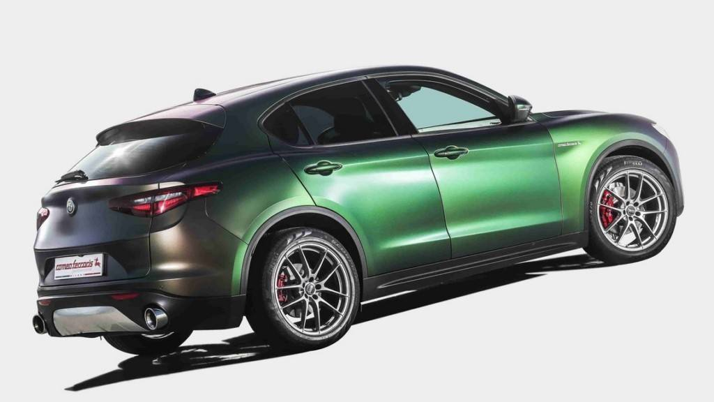 Romeo Ferraris aumenta la deportividad del Alfa Romeo Stelvio con medidas especiales