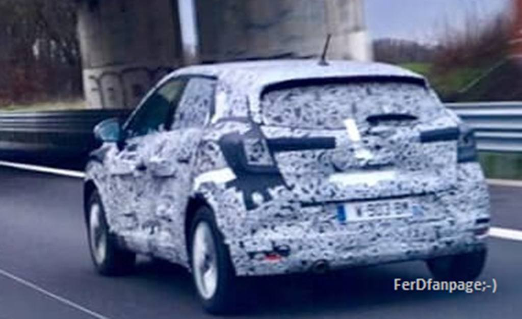El nuevo Dacia Sandero 2020 cazado durante su fase de ...