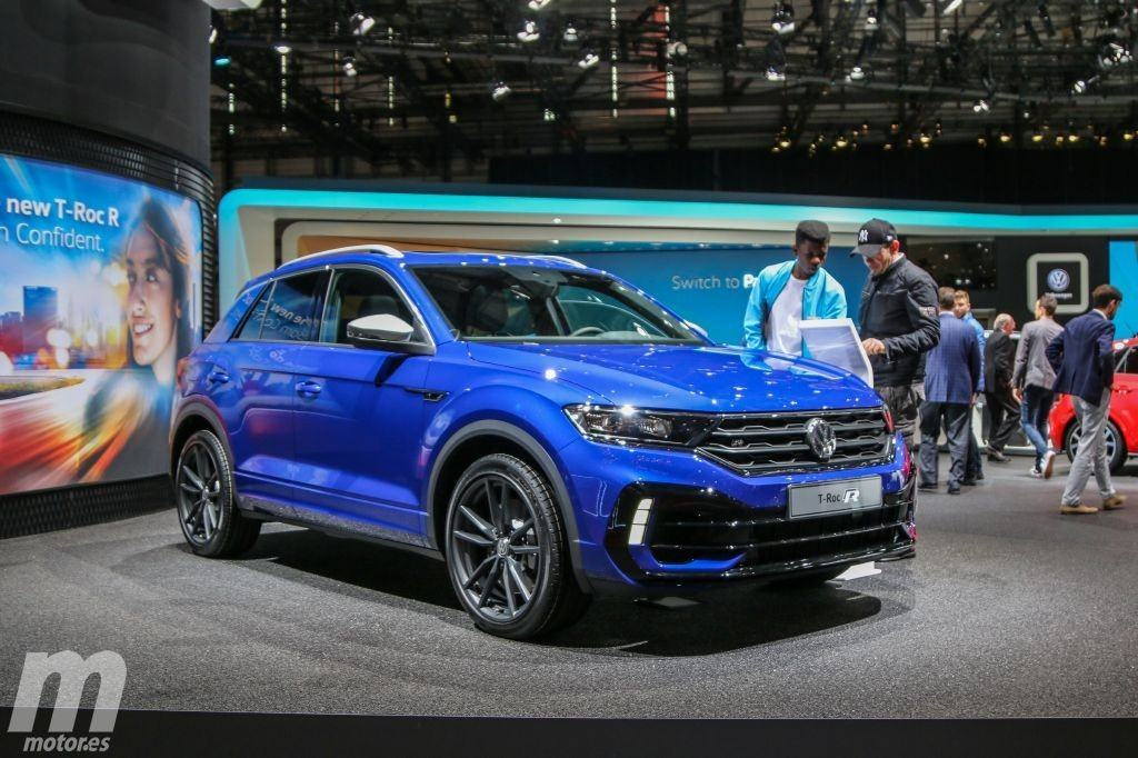 el nuevo volkswagen t roc r en v deo desde el sal n de. Black Bedroom Furniture Sets. Home Design Ideas