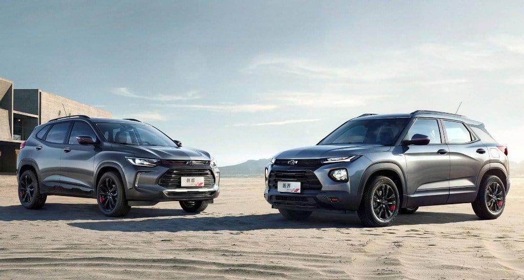 Los nuevos Chevrolet Tracker y Trailblazer 2020 se ...