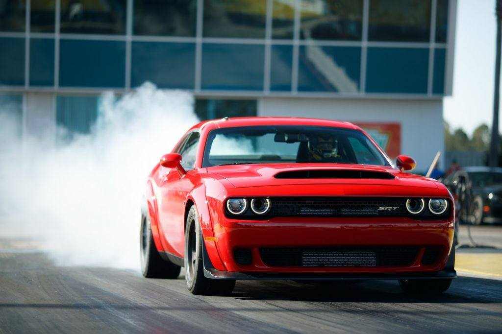 Drag Race Dodge Challenger Hellcat Vs Dodge Challenger Demon Motor Es