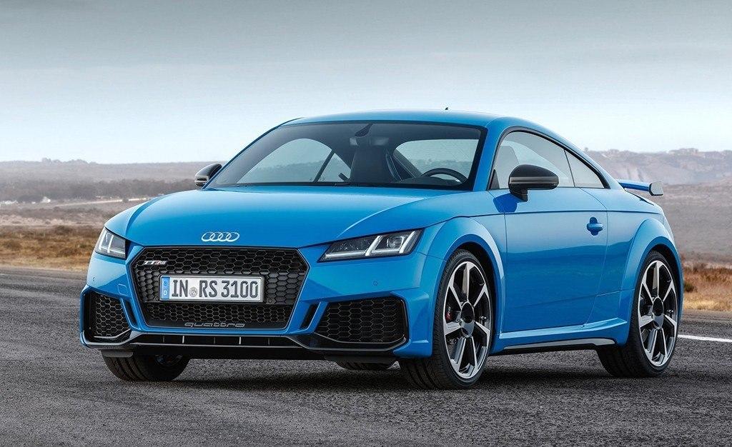 Audi TT RS 2019, el renovado deportivo compacto ya tiene ...