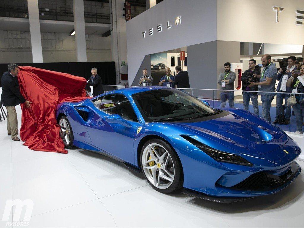 El Ferrari F8 Tributo Debuta En Espana En Automobile Barcelona 2019 Motor Es