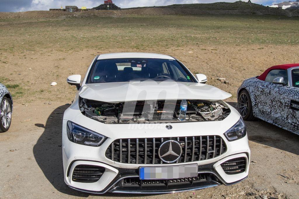 Primeras fotos espía del nuevo Mercedes-AMG GT 73 Coupé ...