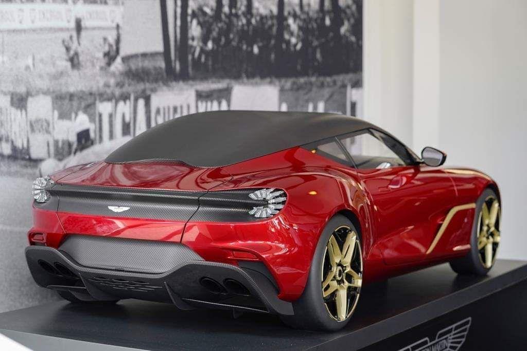 El Aston Martin Dbs Gt Zagato Filtrado Gracias A Un Modelo A Escala Motor Es