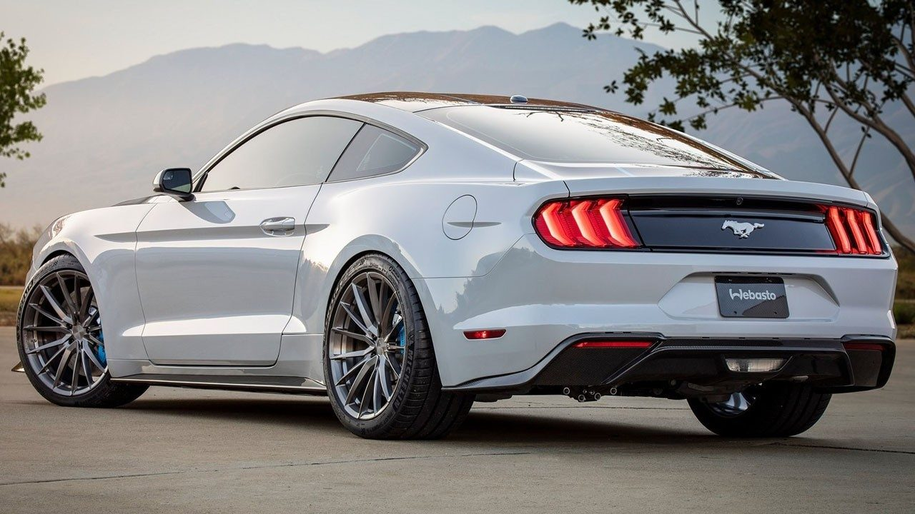 Ford Mustang Lithium - posterior
