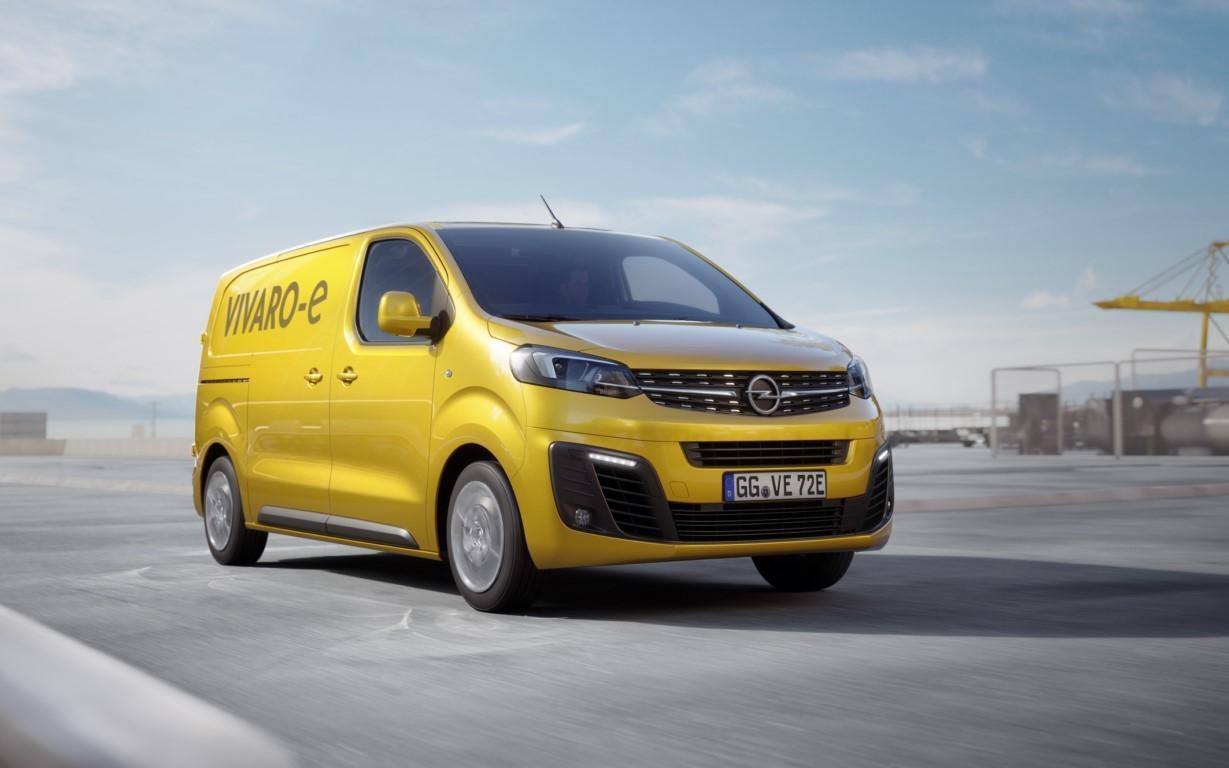 Opel Vivaro-e 2020, la marca del rayo desvela su furgoneta ...