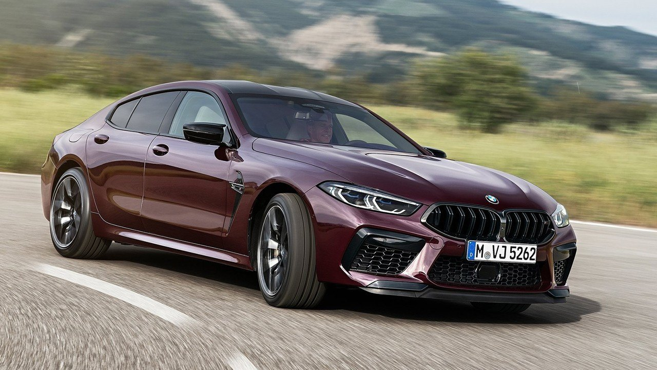 2021 BMW M8 New Review