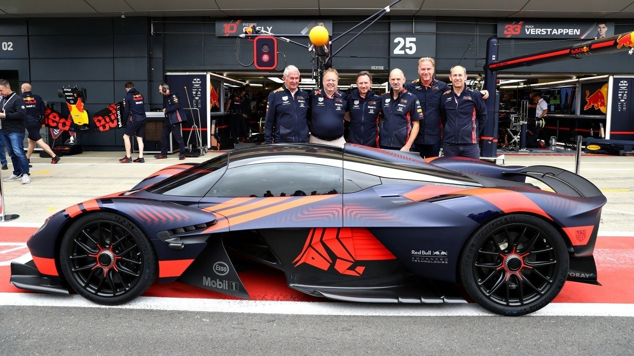 Aston Martin Dejara De Patrocinar A Red Bull A Final De Ano Pero El Valkyrie No Peligra Motor Es