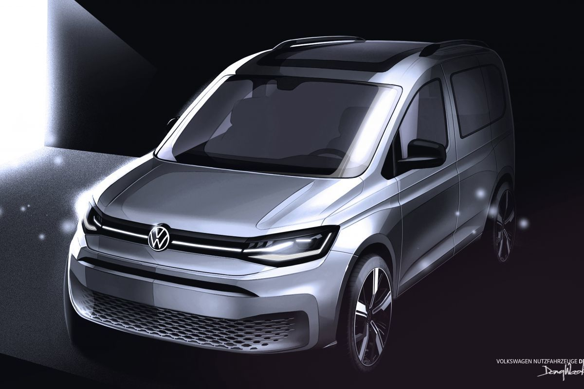 2020 VW Caddy New Concept