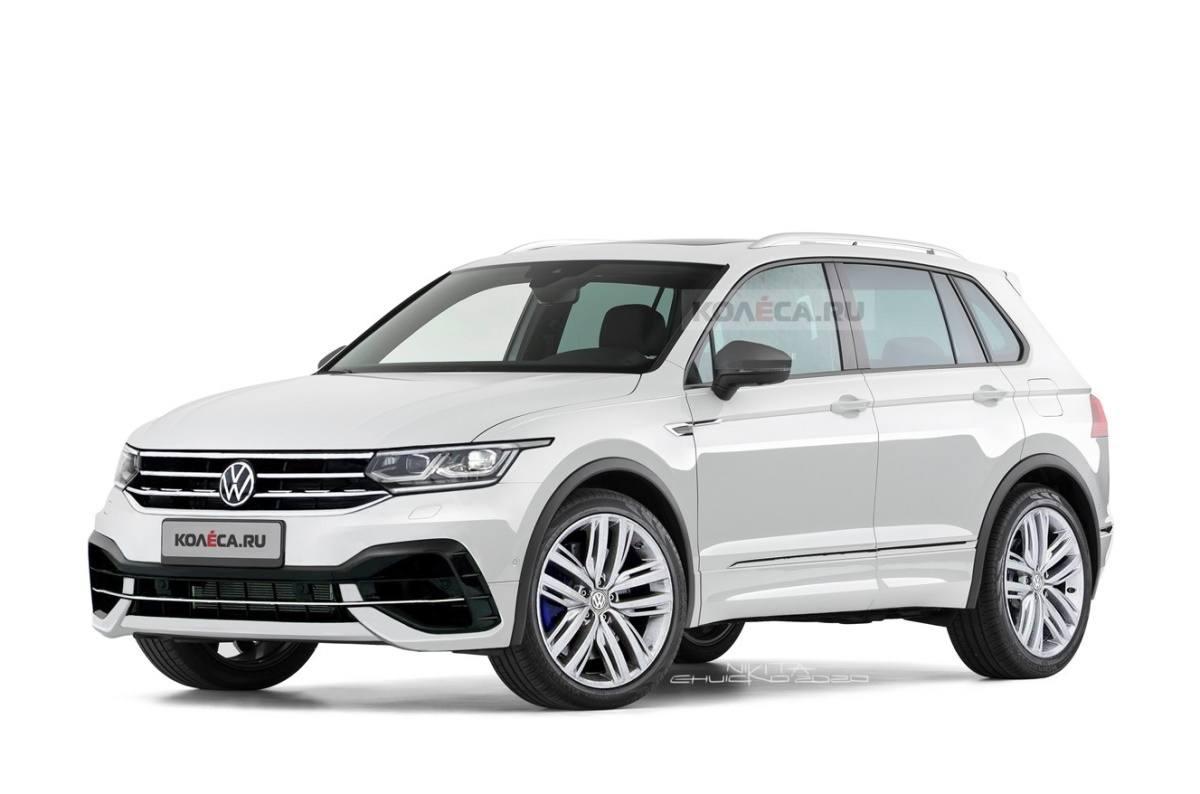 El esperado Volkswagen Tiguan R 2021 tendrá este aspecto ...