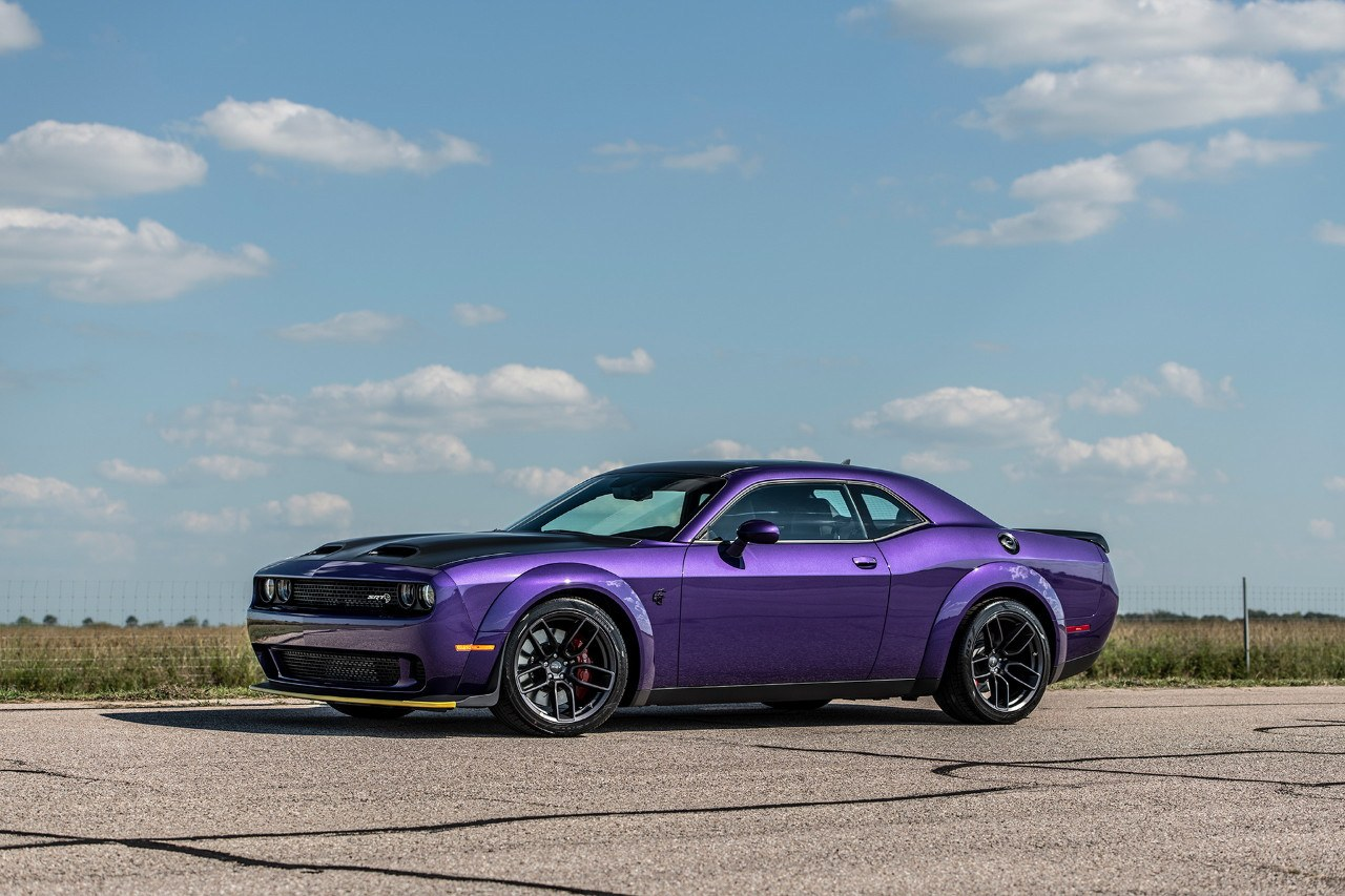 Hennessey Exprime El Dodge Challenger Srt Hellcat Redeye Hasta Los 1 049 Cv Motor Es