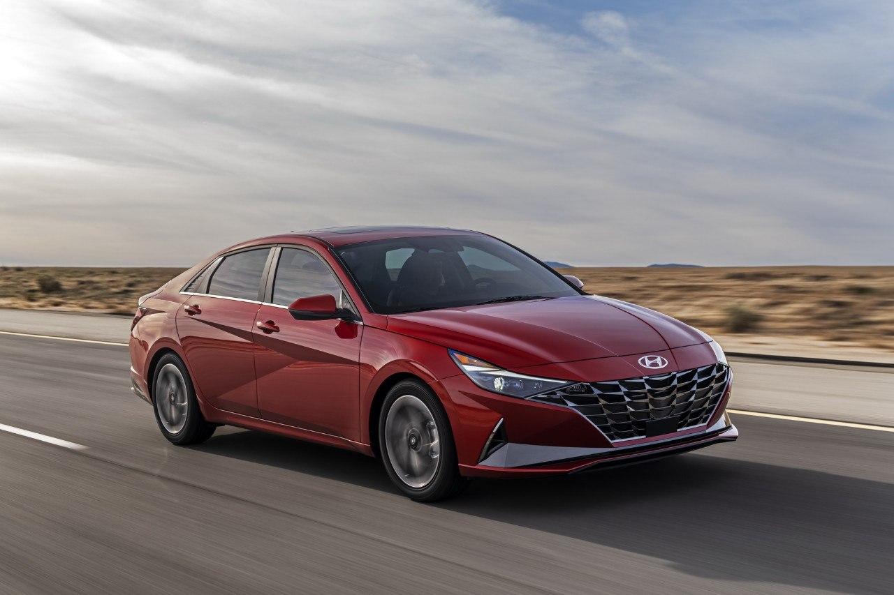2021 Hyundai Elantra Sedan Ratings