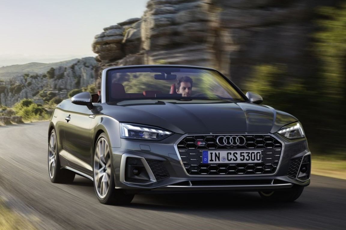 2021 Audi S5 Cabriolet Engine