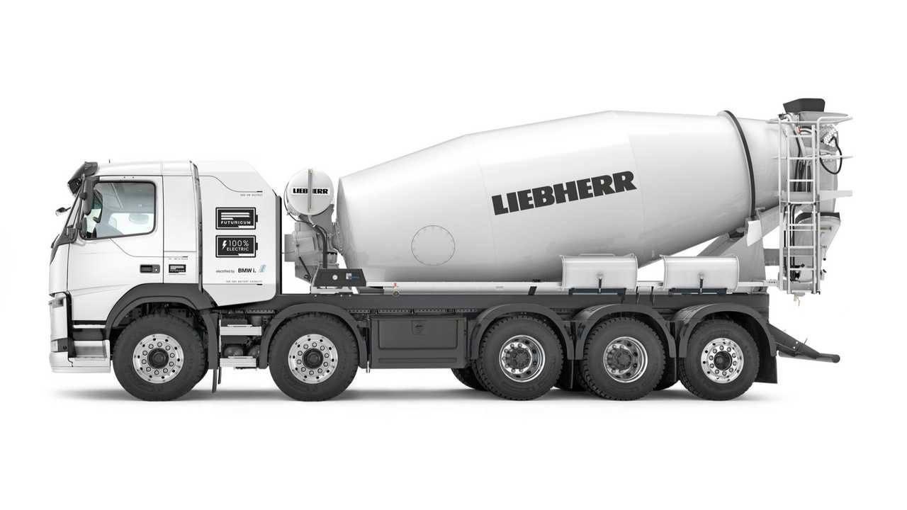 Liebherr Presenta El Primer Camión Hormigonera Eléctrico Del Mundo Motor Es