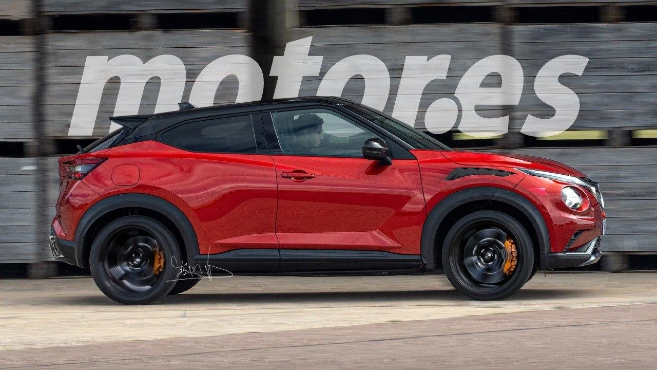 Nissan Juke Coupe El Avance Del Suv Mas Deportivo Que Nunca Llegara A Produccion Motor Es