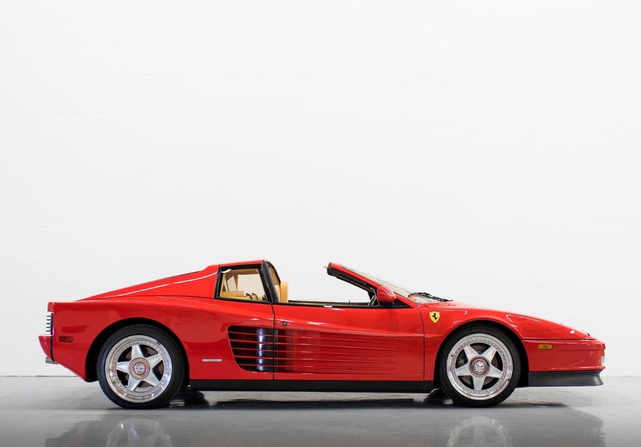 La Desconocida Y Exclusiva Version Targa Del Ferrari Testarossa Motor Es