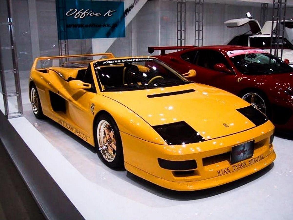 El Brutal Ferrari Testarossa Koenig Competition Evolution Cabrio De Mike Tyson Motor Es