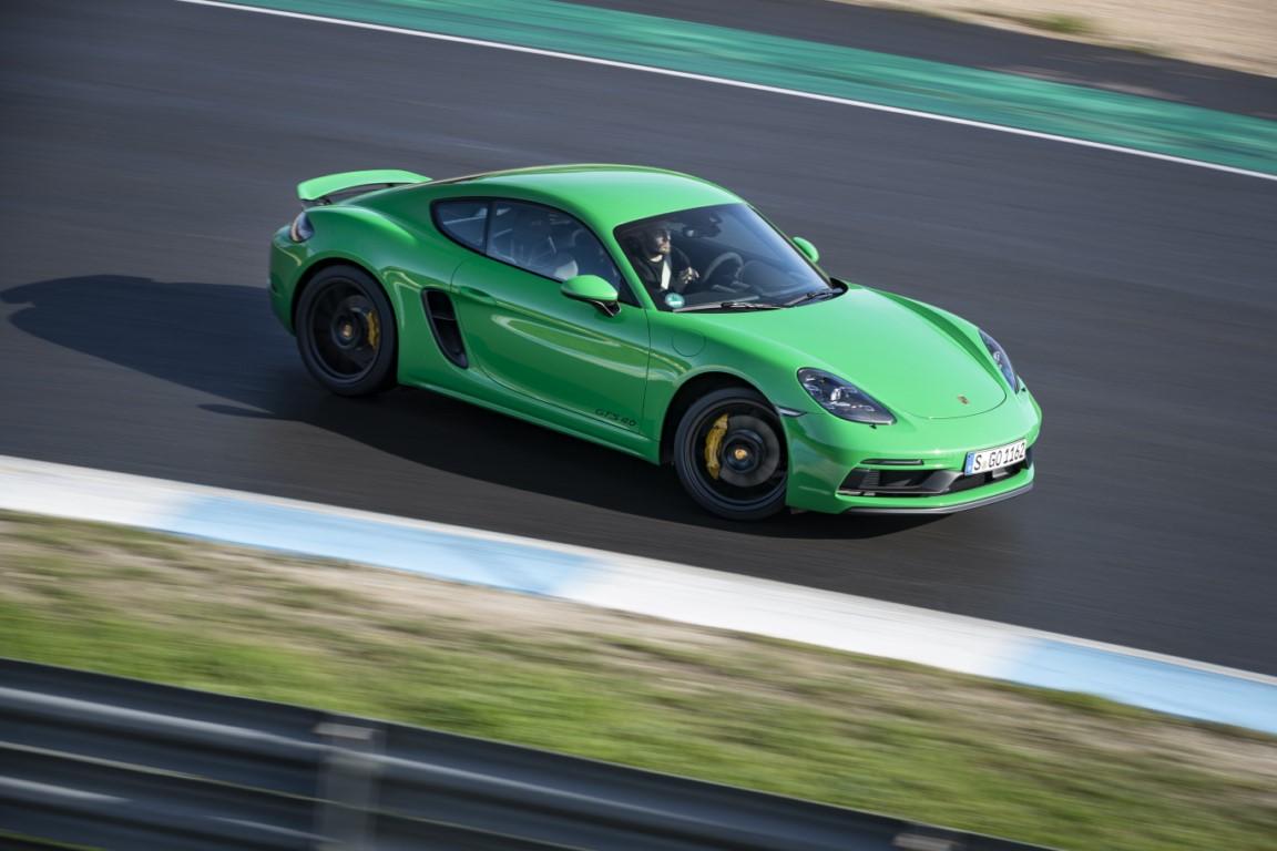 2021 The Porsche 718 Exterior