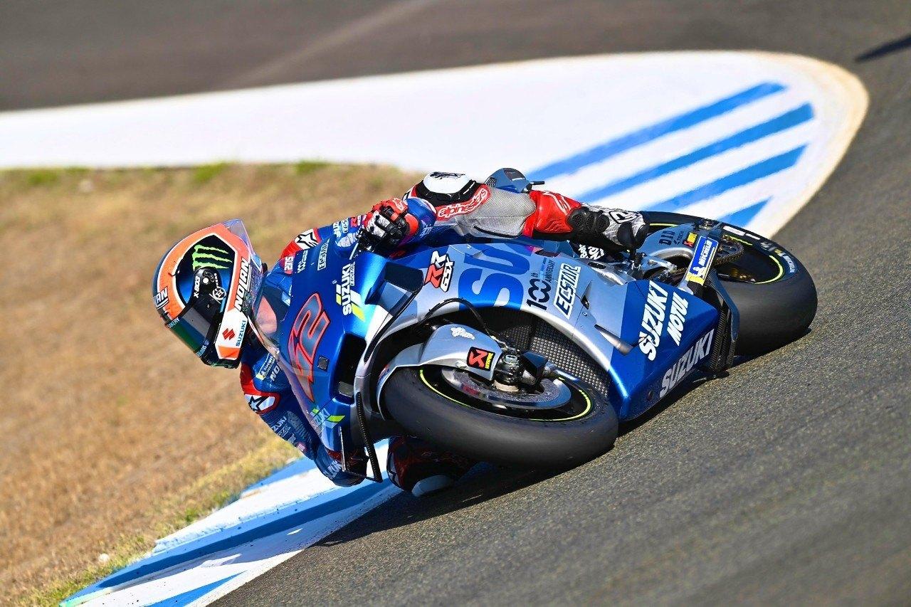 Álex Rins se perderá la carrera en Jerez por una fractura en el ...