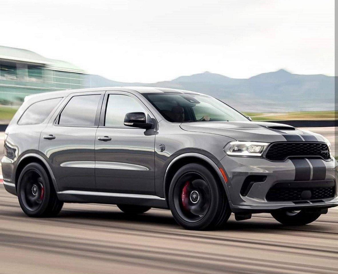 El Brutal Dodge Durango Srt Hellcat Filtrado Un Poco Antes De Su Presentacion Motor Es